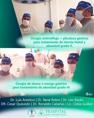 Se realizó con éxito.. cirugías a cargo del equipo multidisciplinario CTO