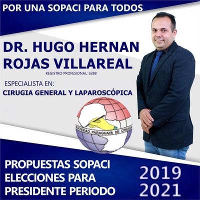 Propuestas del Dr. Hugo Rojas - Candidato a Presidente Sopaci 2019/ 2021