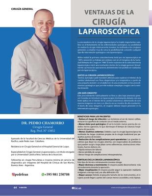 VENTAJAS DE LA CIRUGÍA LAPAROSCÓPICA